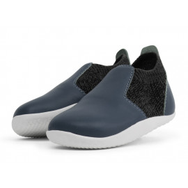 Bobux: Step up (No: 19-21) Xplorer Aktiv Knit Trainer Navy 501601-20
