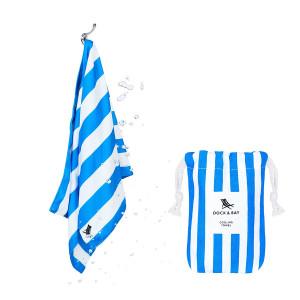 Dock & Bay Δροσιστική πετσέτα γυμναστηρίου Bondi Blue 69χ33 cm 5060668830000