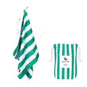 Dock & Bay Δροσιστική πετσέτα γυμναστηρίου Cancun Green 69χ33 cm 5060668830017