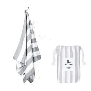 Dock & Bay Δροσιστική πετσέτα γυμναστηρίου Goa Grey 69χ33 cm 5060668830024