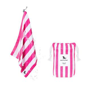 Dock & Bay Δροσιστική πετσέτα γυμναστηρίου Phi Phi Pink 69χ33 cm 5060668830031