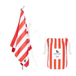 Dock & Bay Δροσιστική πετσέτα γυμναστηρίου Red 69χ33 cm 5060668830055