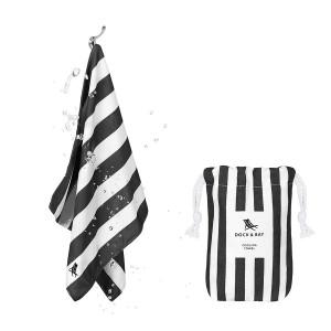 Dock & Bay Δροσιστική πετσέτα γυμναστηρίου Kamari Charcoal 69χ33 cm 5060668830499