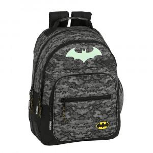Safta: Τσάντα πλάτης μεγάλη 32x15x42εκ. με ενισχυμένες γωνίες Batman 612004773
