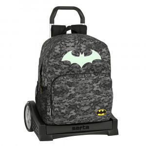 Safta: Τσάντα με τρόλεϊ Evolution μεγάλη 32x14x43εκ.Batman 612004860