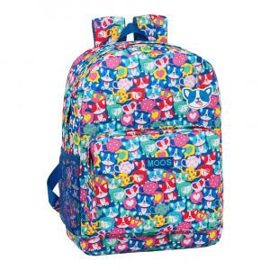 Safta: Τσάντα πλάτης με θήκη για laptop ή tablet 32x14x43εκ. Corgi 612018754