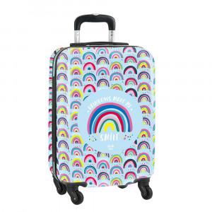 "Safta: Βαλίτσα 20"" 56εκ. Rainbow 612033851"