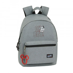 "Safta: Τσάντα πλάτης με θήκη για laptop ή tablet 31x16x41εκ. Mickey Mouse ""Oh boy"" 612049819"