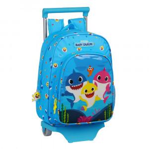 Safta Τσάντα με τρόλεϊ 34εκ Baby Shark 612060020