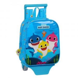 Safta Τσάντα με τρόλεϊ 28εκ Baby Shark 612060280