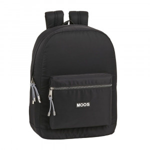 Safta: Τσάντα πλάτης με θήκη για laptop ή tablet 32x14x43εκ. Moos Capsula Black 612063754