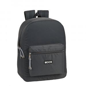 Safta: Τσάντα πλάτης με θήκη για laptop ή tablet 32x14x43εκ. Moos Capsula Grey 612065754