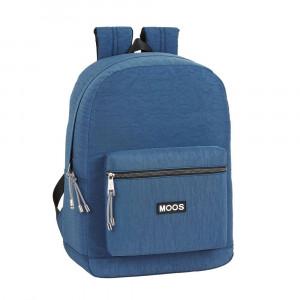 Safta: Τσάντα πλάτης με θήκη για laptop ή tablet 32x14x43εκ. Moos Capsula Jeans 612068754