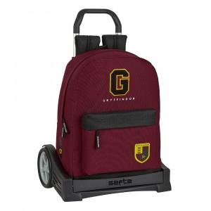 Safta: Τσάντα με τρόλεϊ Evolution μεγάλη 32x14x43εκ. Harry Potter 612093860