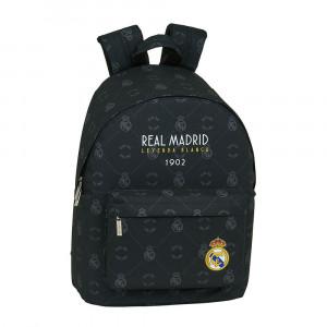 Safta: Τσάντα πλάτης με θήκη για laptop ή tablet 31x16x41εκ. Real Madrit 642002819