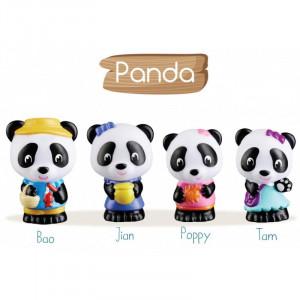"""Klorofil Οικογένεια """"Panda"""" 4τμχ. 700304F"""