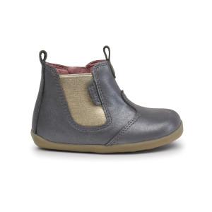 Bobux: Step up Jodphur Boot Charcoal Shimmer 721923