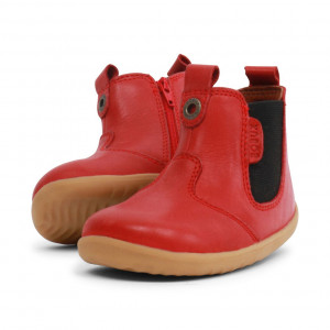 Bobux: Step up Jodphur Boot Red 721927A