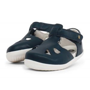 Bobux: Step up (No: 18-22) Zap Sandal Navy Quickdry 725820