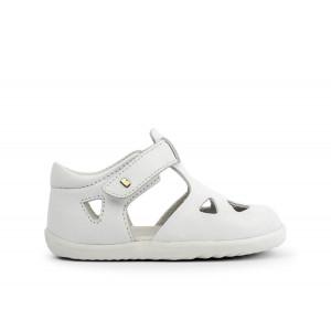 Bobux: Step up (No: 18-22) Zap Sandal White Quickdry 725826