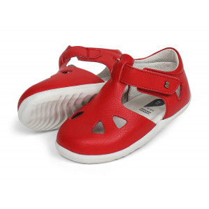 Bobux: Step up (No: 18-22) Zap Sandal Red Quickdry 725827