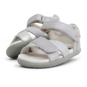 Bobux: Step up Sail Sandal Silver 728708
