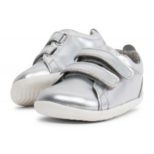 Bobux: Step up Grass Court Waterproof Silver 729701