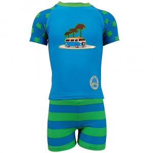 Jakabel Σετ μπλούζα-σορτς με προστασία UVP50+ Star Camper AG3001