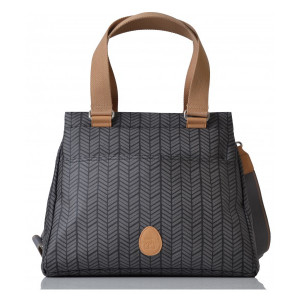 Pacapod: Τσάντα αλλαξιέρα - Richmond Charcoal Herringbone BB:0213