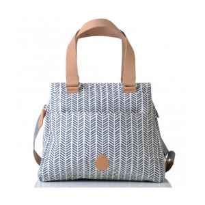 Pacapod: Τσάντα αλλαξιέρα - Richmond Navy Herringbone BB:0214