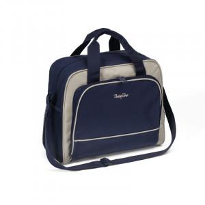 BabyOno: Τσάντα αλλαξιέρα Basic μπλε BN1421-03