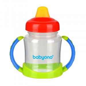 BabyOno: Ποτηράκι Non-spill με μαλακό στόμιο BN206