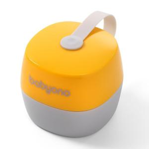 BabyOno: Θήκη πιπίλας - Κίτρινο και γκρί BN535-03