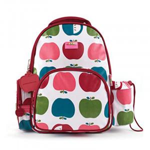 "Penny Scallan: Τσάντα πλάτης με θήκη για παγούρι μεσαίο 34x 26 εκ ""Juicy Apple"" BPMJUA"