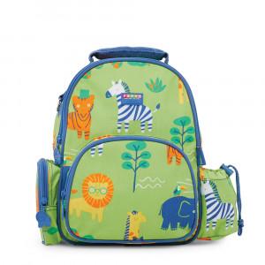 "Penny Scallan: Τσάντα πλάτης με θήκη για παγούρι μεσαίο 34x 26 εκ ""Wild Thing"" BPMWIT"