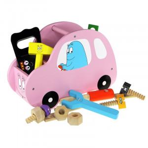 Barbo Toys Barbapapa Αυτοκίνητο με εργαλεία ροζ BT2648