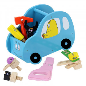 Barbo Toys Barbapapa Αυτοκίνητο με εργαλεία γαλάζιο BT2649