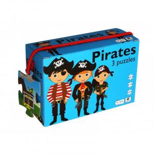 Barbo Toys: 3 παζλ Πειρατές BT5922