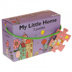 "Barbo Toys: 3 παζλ ""Το μικρό μου σπίτι"" BT5924"
