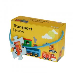 Barbo Toys: 3 παζλ Μεταφορά BT5926