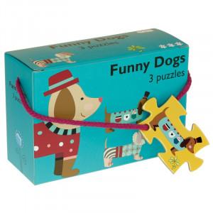 Barbo Toys: 3 παζλ Σκύλος BT5927