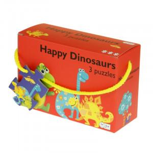 Barbo Toys: 3 παζλ Dino BT5928