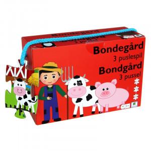 Barbo Toys: 3 παζλ Φάρμα BT5929