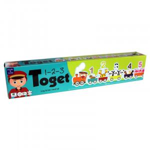 Barbo Toys Puzzle 123 Τρένο BT5948