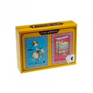 Barbo Toys 2 Σετ Τράπουλες Hans Christian Andersen BT6134