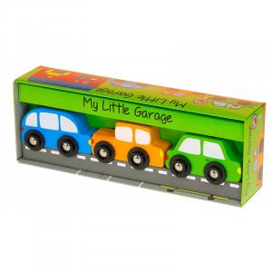 """Barbo Toys Ξύλινο παιχνίδι """"Το μικρό μου Γκαράζ"""" BT6406"""