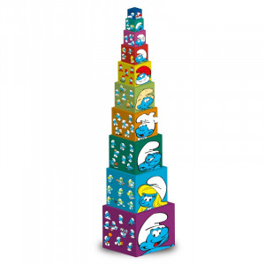 Barbo Toys Κύβοι Στρουμφάκια 10 τεμάχια BT8400