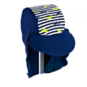 Jakabel Καπέλο με UVP50+ 0-18 μηνών μπλε δελφίνι DHNB