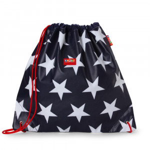 "Penny Scallan: Τσάντα - σακίδιο με κορδόνι ""Navy Star"" DSBNAS"