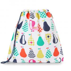 "Penny Scallan: Τσάντα - σακίδιο με κορδόνι ""Pear Salad"" DSBPES"